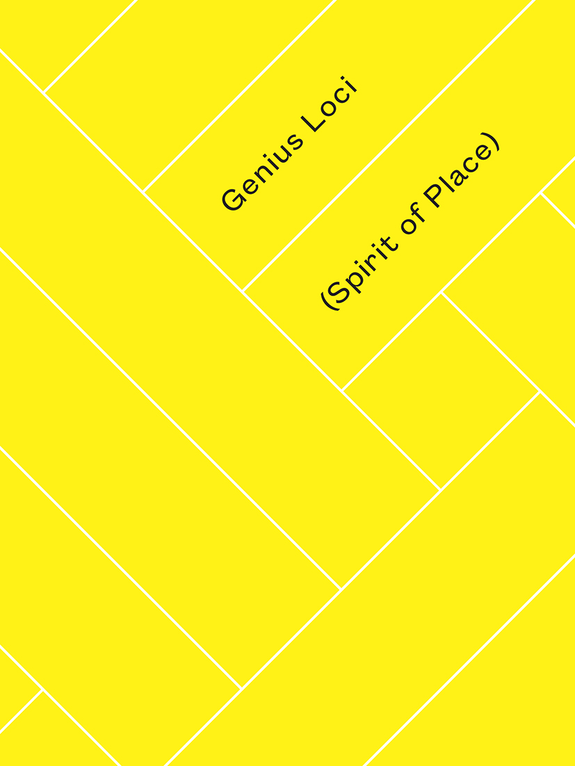 GENIUS LOCI | SPIRIT OF PLACE CATALOGUE