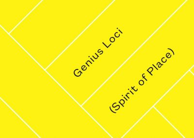 Genius Loci | Spirit of Place