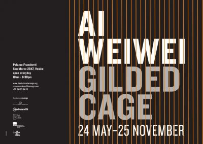AI WEIWEI. GILDED CAGE