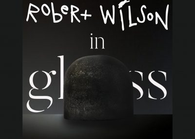 Robert Wilson in Glass