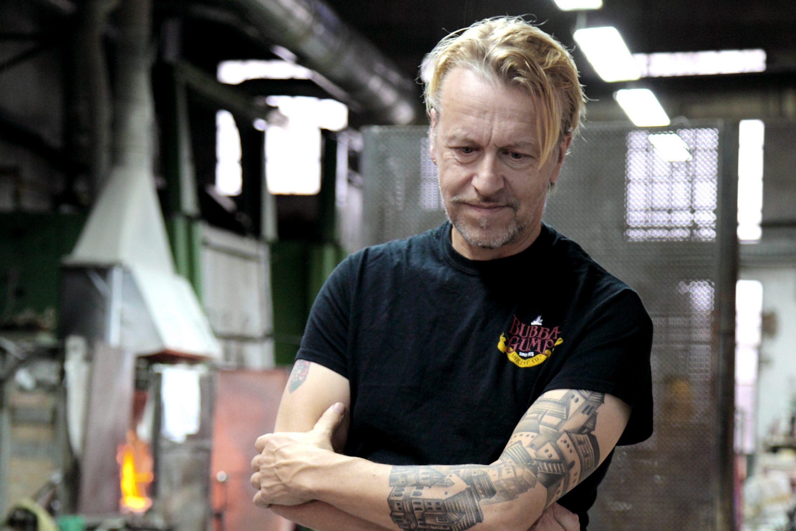 Ernst Billgren in Berengo Studio