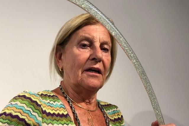 Federica Marangoni in Berengo Studio for Unbreakable: Women in Glass