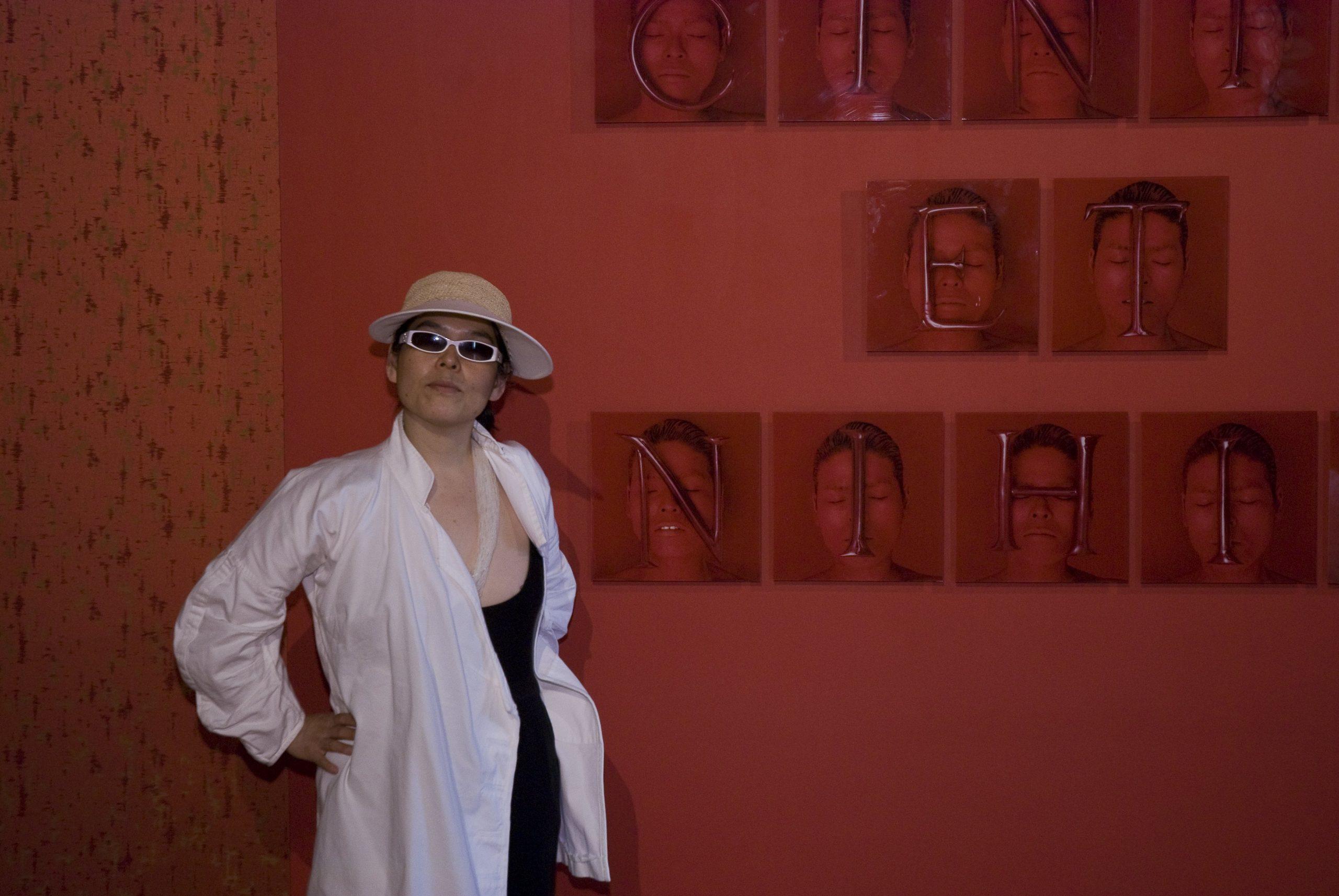 Kimiko Yoshida and her work at Glasstress 2009