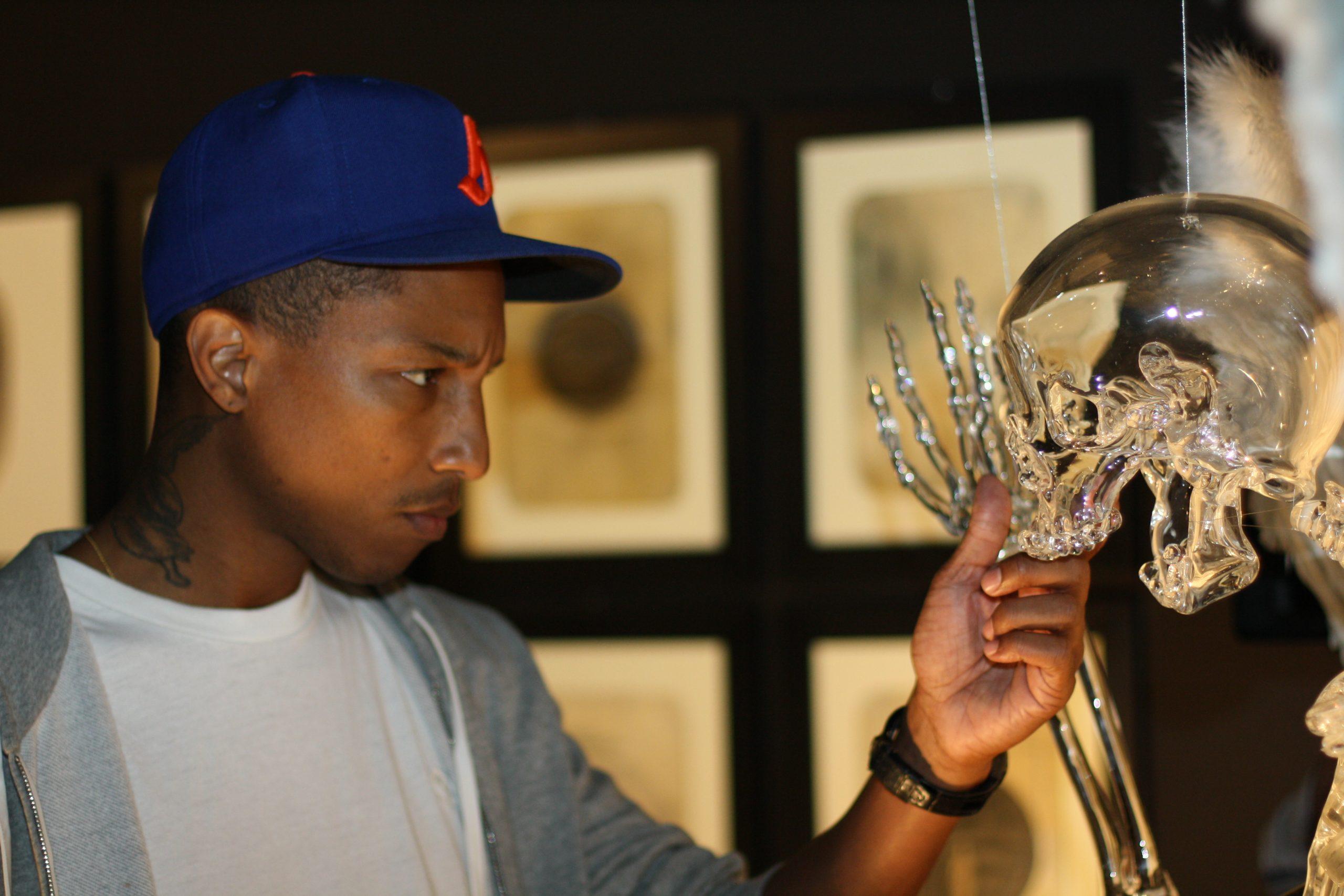 Pharrell Williams at Glasstress 2011