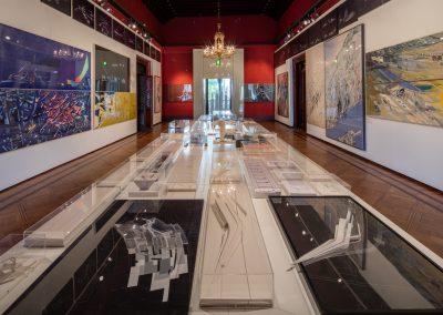 Zaha Hadid Exhibition View