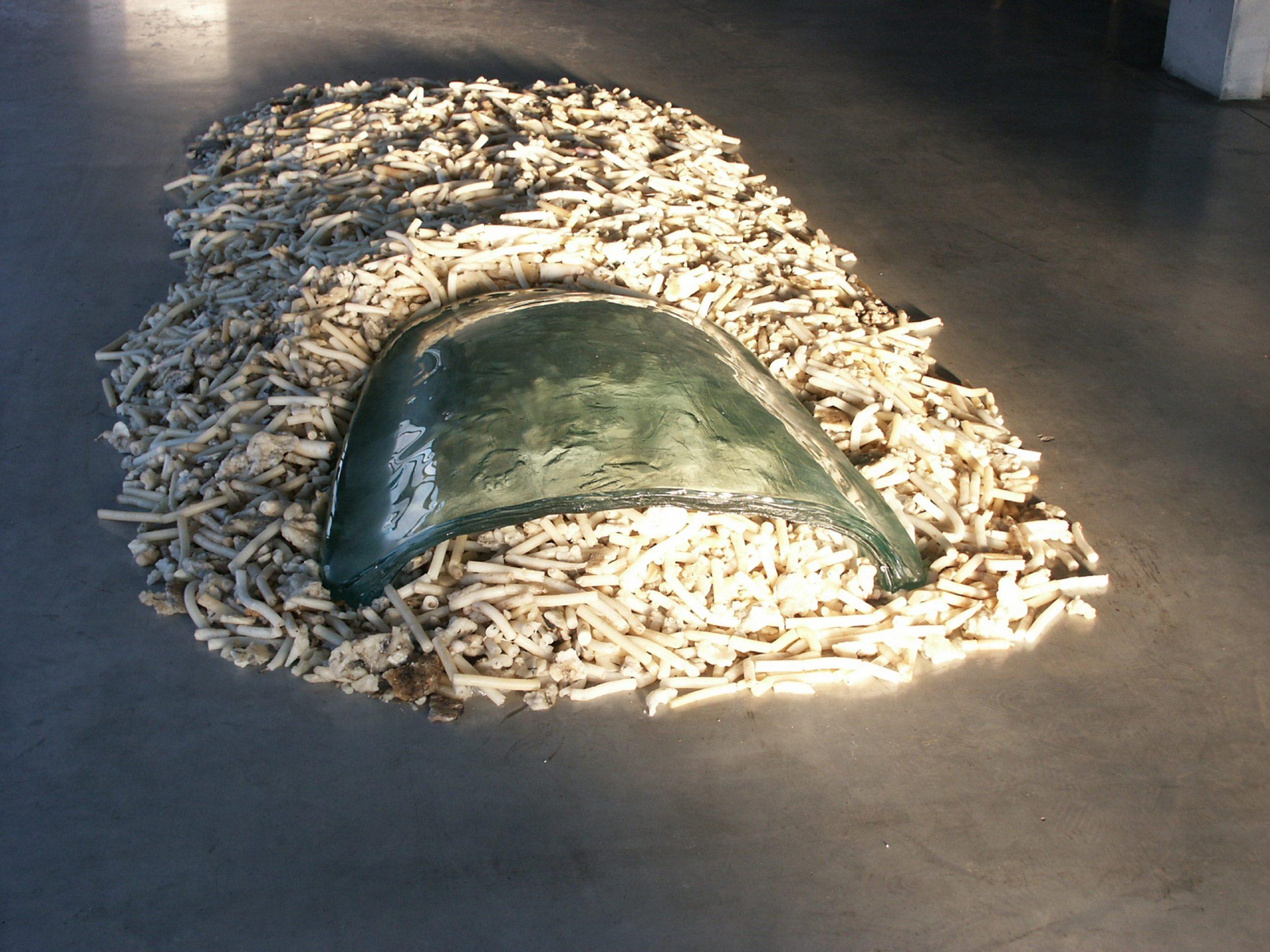 Giuseppe Penone's Unghia e candele