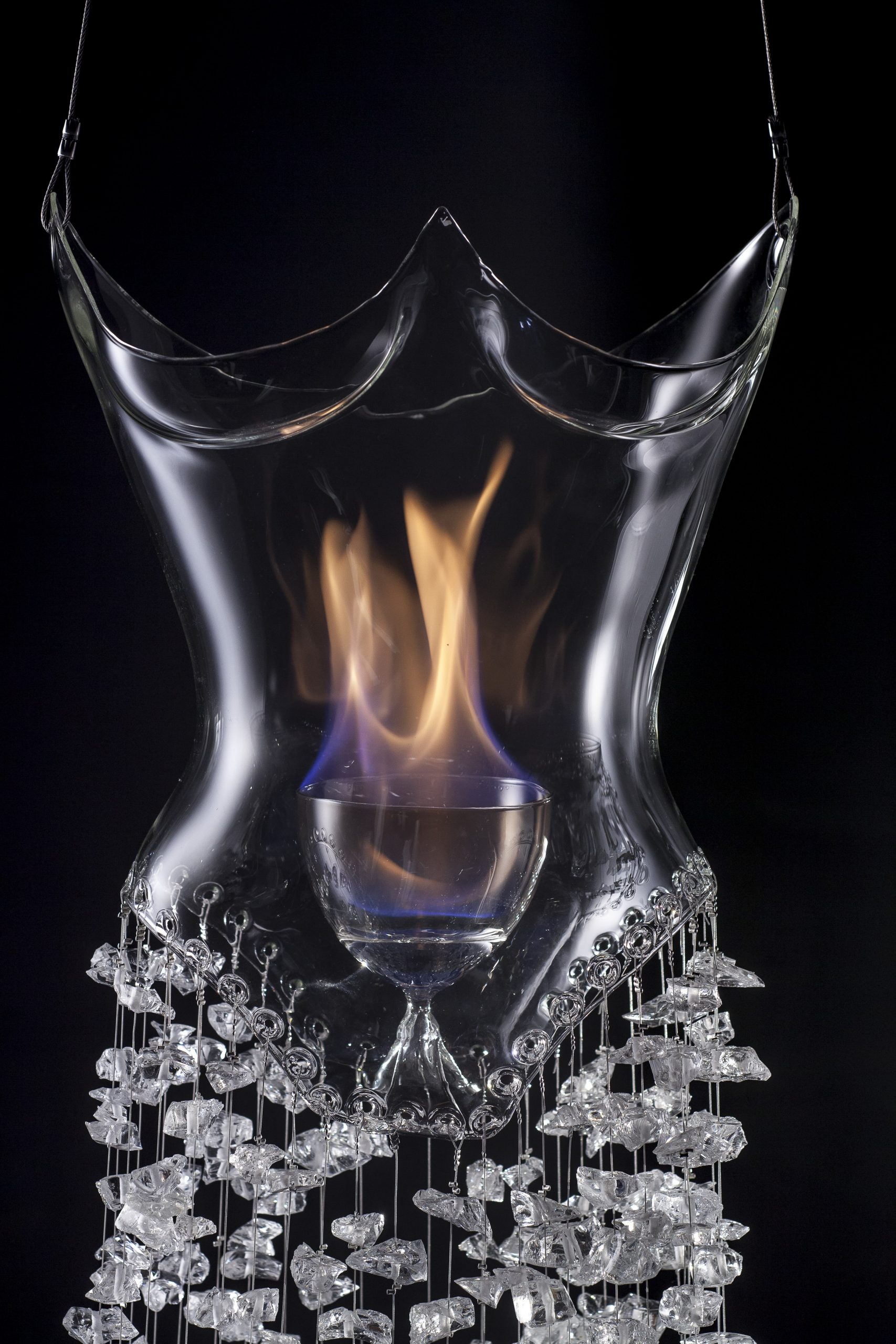 Helen Storey's The Dress of Glass and Flame, 2013