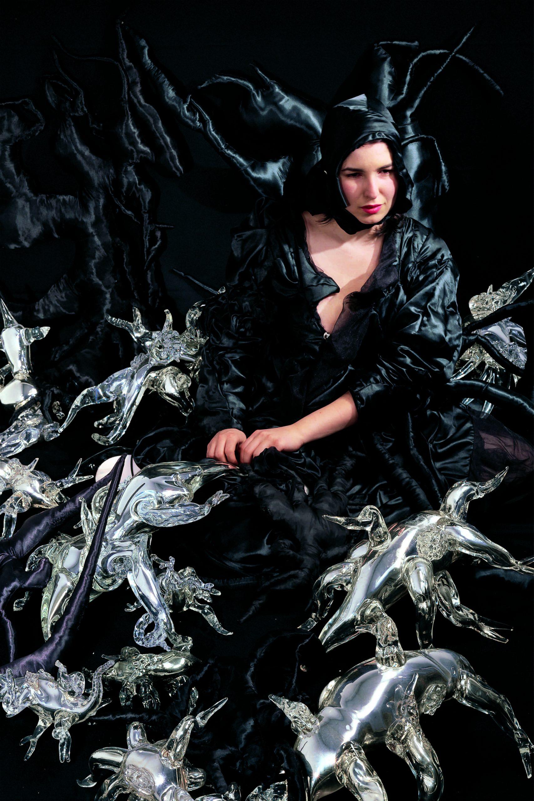 Marya Kazoun's Self-Portrait
