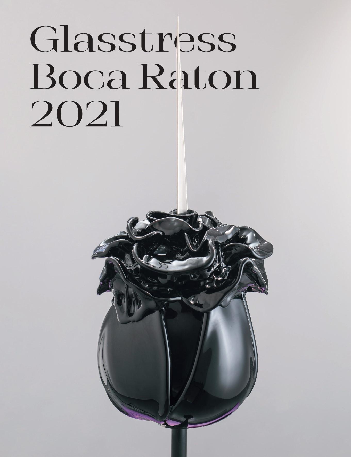 Glasstress Boca Raton Catalogue Cover