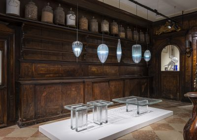Glass to Glass Exhibition View, Berengo Collection, Venice