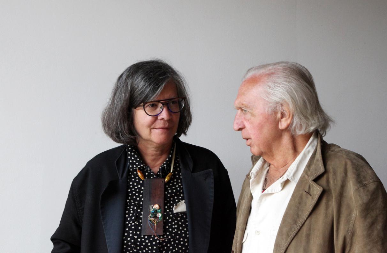 Maria Thereza Alves and Jimmie Durham (LABINAC) at Berengo Studio