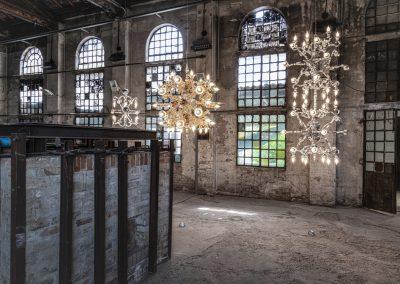 Glass to Glass Exhibition View, Fondazione Berengo Art Space, Murano