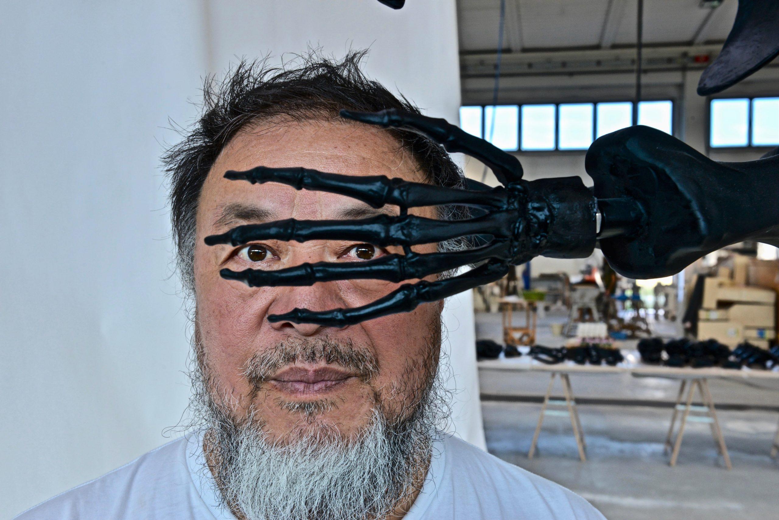 Ai Weiwei at Berengo Studio