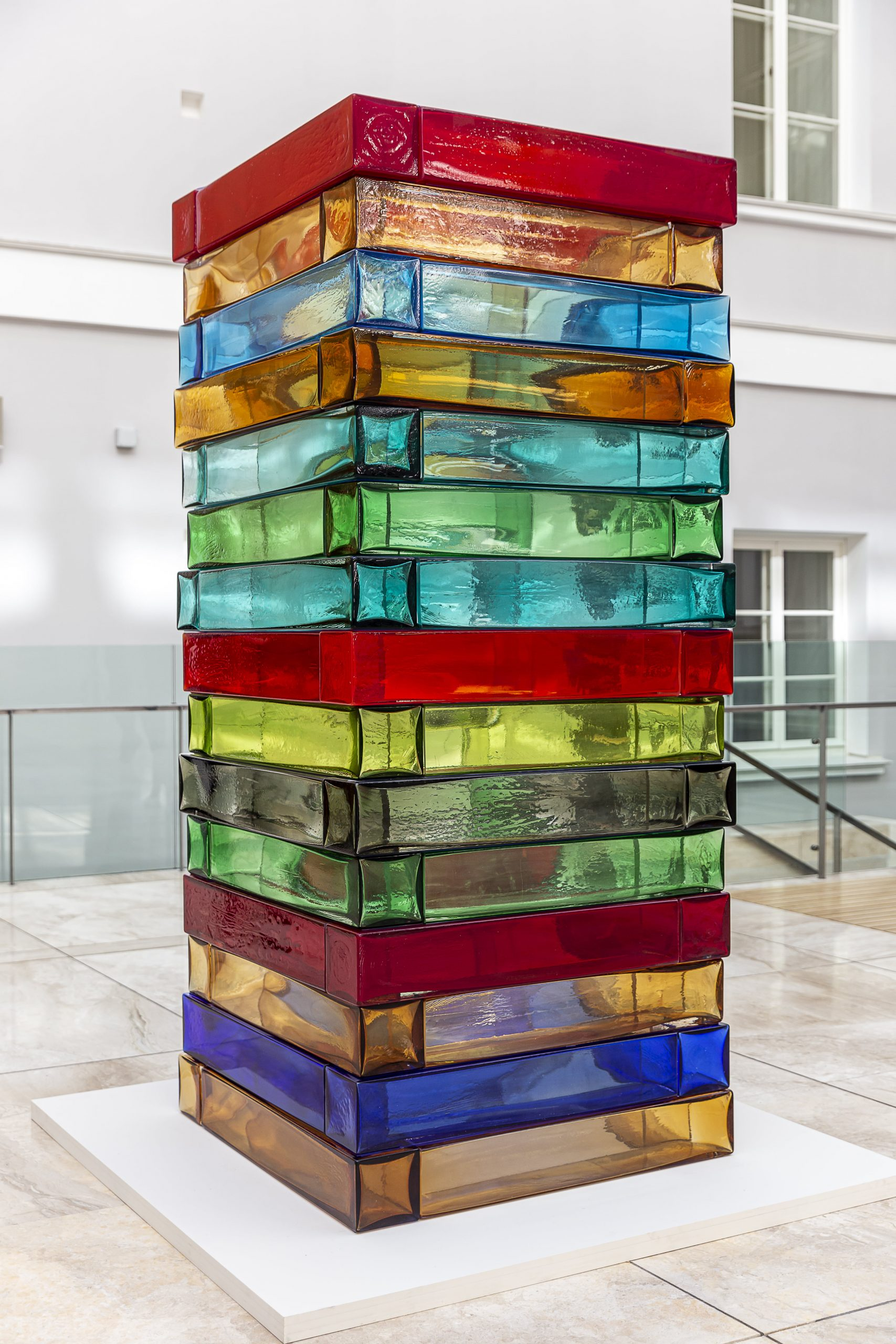 ean Scully's Venice Stack